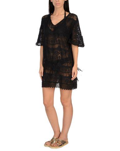 ICONIQUE Damen Strandkleid Schwarz Größe M 100% Baumwolle