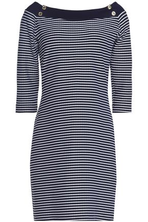 HEIDI KLEIN Striped stretch-jersey mini dress
