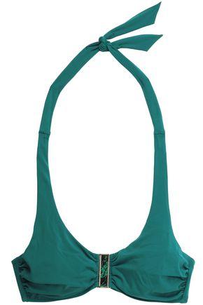 HEIDI KLEIN Embellished halterneck bikini top