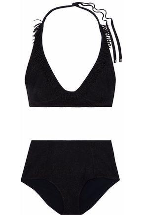 MISSONI Fringe-trimmed bikini