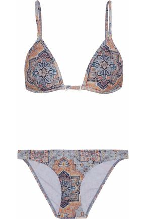 ZIMMERMANN Harlequin triangle bikini