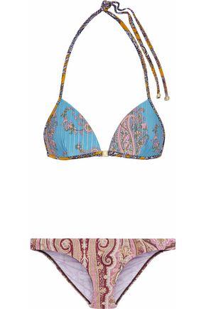 ZIMMERMANN Realm printed bikini