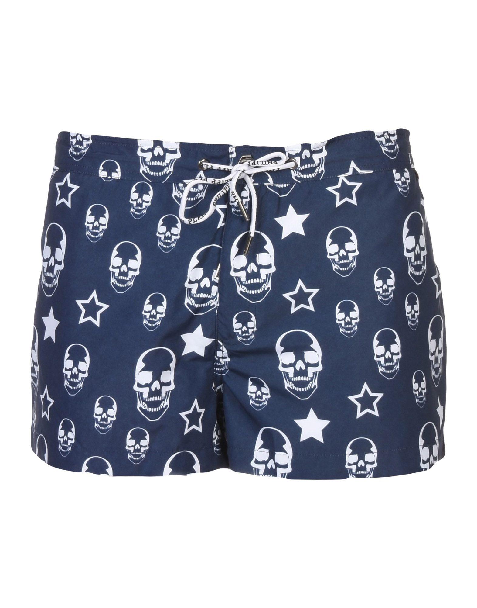 PHILIPP PLEIN Шорты для плавания шорты philipp plein цвет синий
