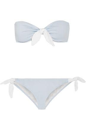 EBERJEY So Solid Lola Ursula bandeau bikini