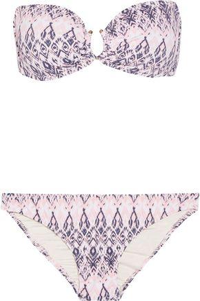 EBERJEY Rumba Cecily Allie printed bandeau bikini