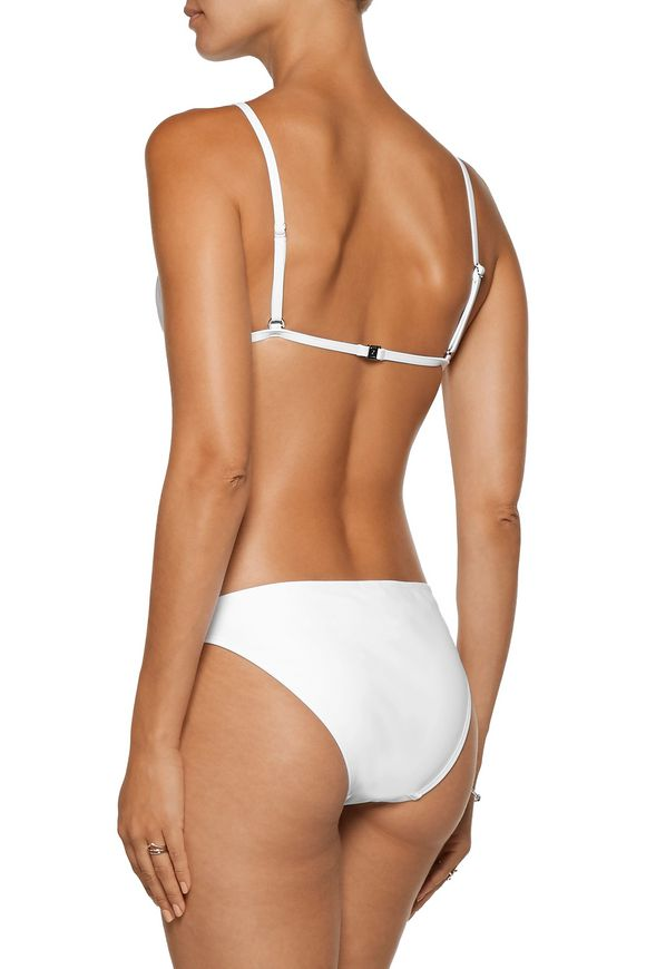 Zephyr bonded triangle bikini | ZIMMERMANN | Sale up to 70% off | THE OUTNET