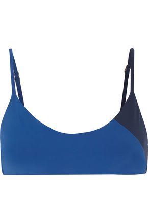 HEIDI KLUM SWIM Color-block bikini top