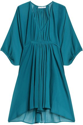HEIDI KLEIN Gathered crinkled gauze kaftan