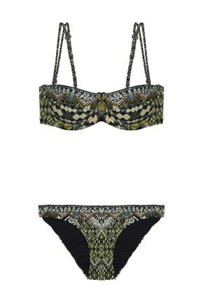 CAMILLA Embellished printed bikini