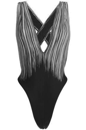 NORMA KAMALI Printed swimsuit