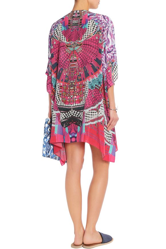 Embellished printed silk kaftan | CAMILLA | Sale up to 70% off | THE OUTNET