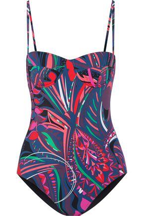 EMILIO PUCCI Printed swimsuit