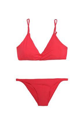 MELISSA ODABASH Marbella ruched triangle bikini