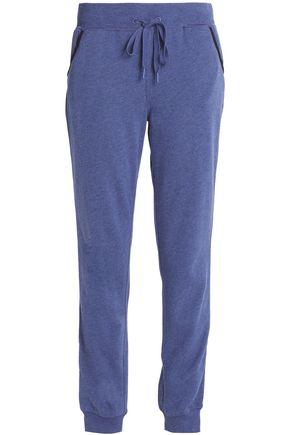CALVIN KLEIN Mélange cotton-blend jersey pajama pants