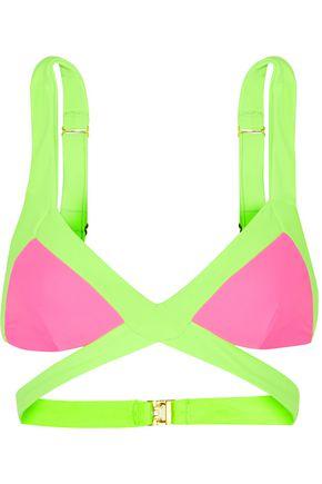 AGENT PROVOCATEUR Mazzy triangle bikini top