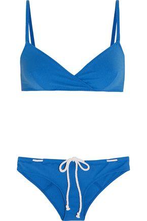 LISA MARIE FERNANDEZ Yasmin stretch-crepe triangle bikini