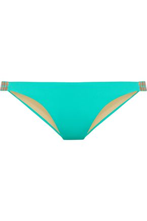 I.D. SARRIERI Dial M for Mermaid embellished bikini briefs
