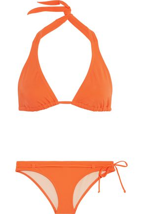 L'AGENT by AGENT PROVOCATEUR Honore halterneck bikini