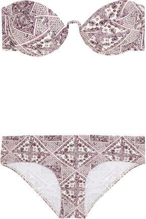 ZIMMERMANN Ryker printed bikini