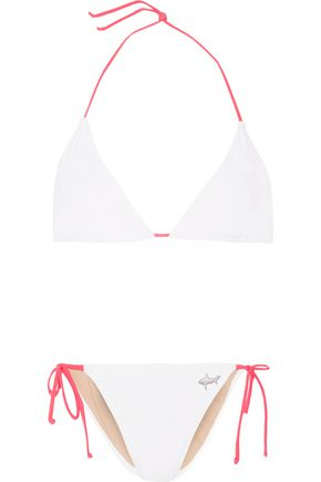 MIGUELINA + Oceana Tamara triangle bikini