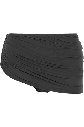 NORMA KAMALI Diana asymmetric high-rise bikini briefs