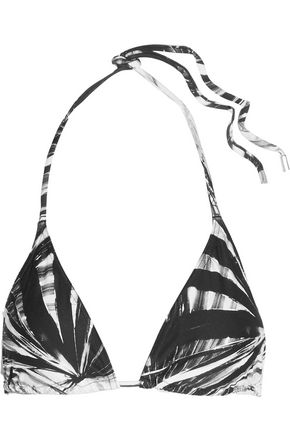 ORLEBAR BROWN Nicoletta Fronds triangle bikini top