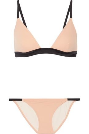 SOLID & STRIPED The Morgan triangle bikini
