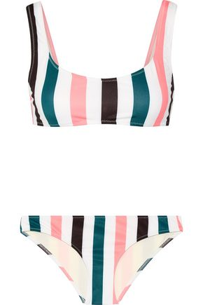 SOLID & STRIPED The Elle striped bikini