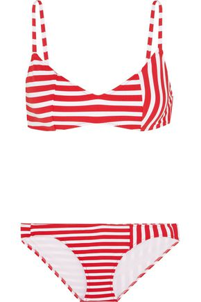 ARAKS Elsa striped triangle bikini