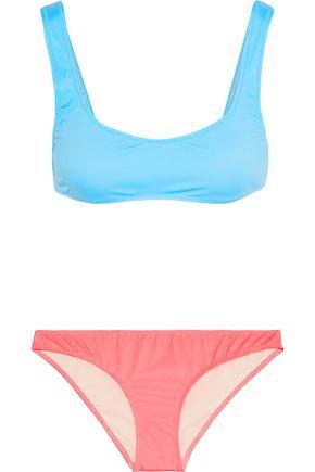 SOLID & STRIPED The Elle two-tone bikini
