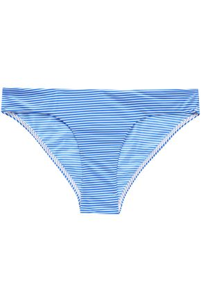 ZIMMERMANN Striped mid-rise bikini briefs