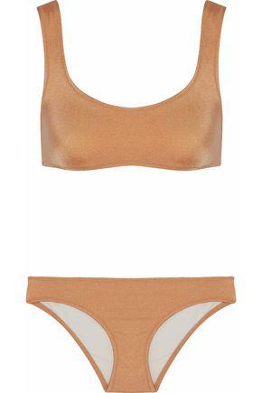 SOLID & STRIPED Metallic bikini
