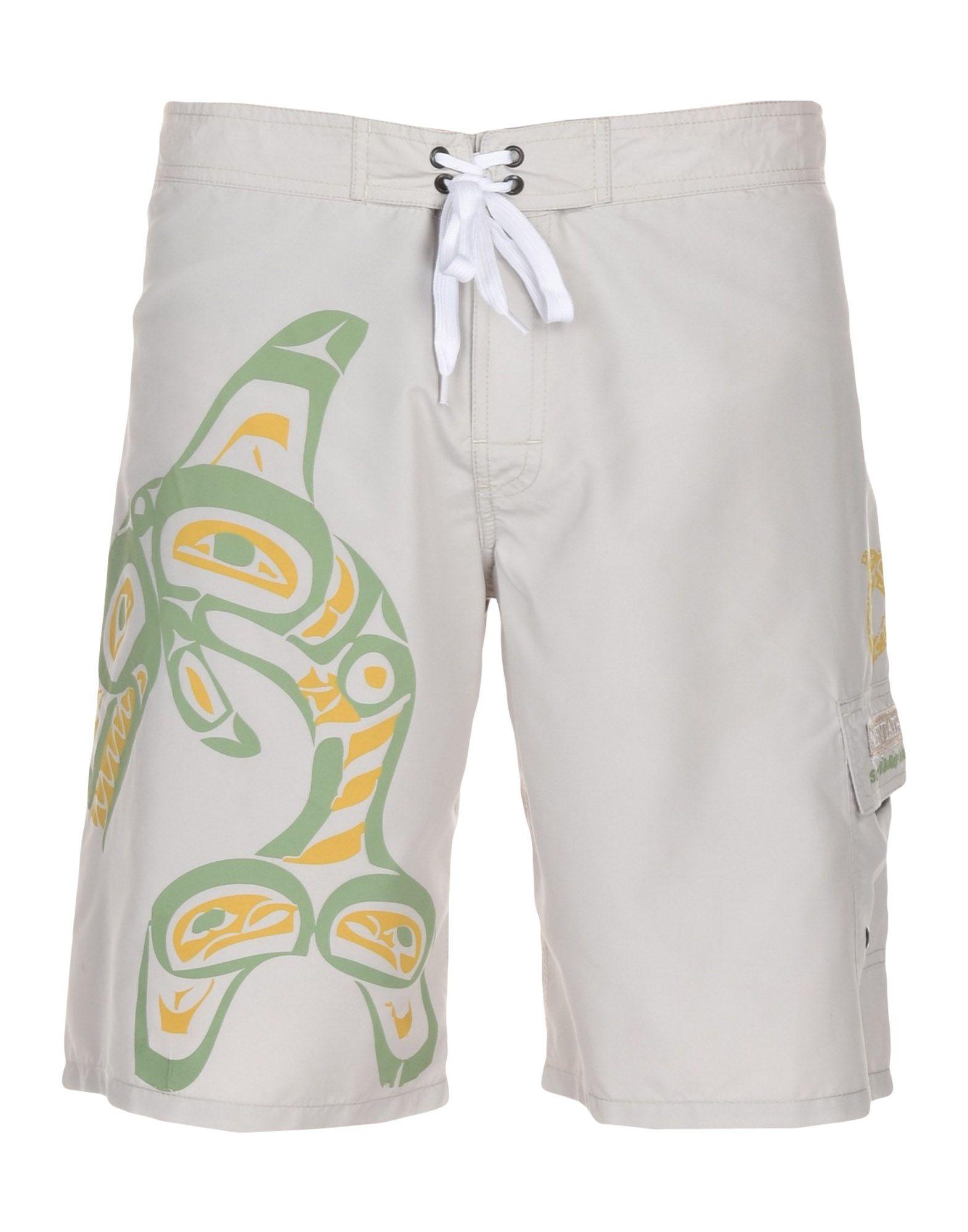 LEVIATHAN Пляжные брюки и шорты шорты пляжные с рисунком