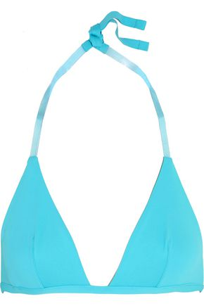 LA PERLA Plastic Dream PVC-trimmed bikini top