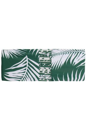 MIKOH Sunset printed bandeau bikini top