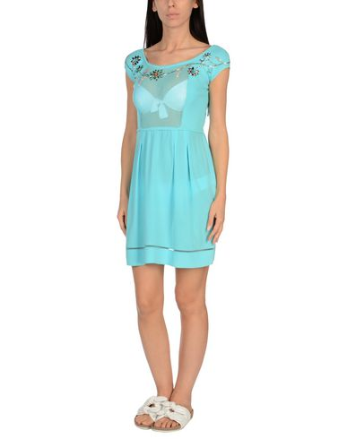 Купить Пляжное платье от VDP BEACH бирюзового цвета