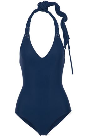 MIKOH Lattice-paneled swimsuit