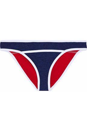 DUSKII Mélange neoprene mid-rise bikini briefs