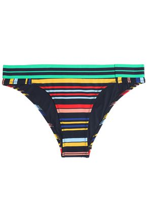 STELLA McCARTNEY Striped low-rise bikini briefs