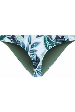 MARA HOFFMAN Low-rise printed bikini briefs