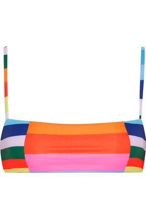 MARA HOFFMAN Color-block bikini top