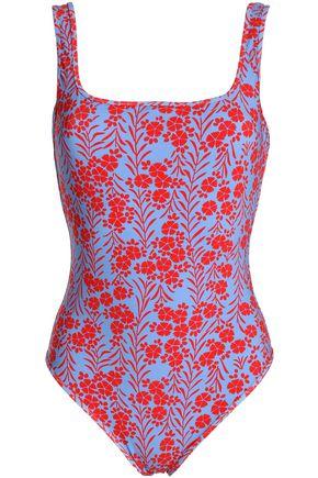 DIANE VON FURSTENBERG Floral-print swimsuit