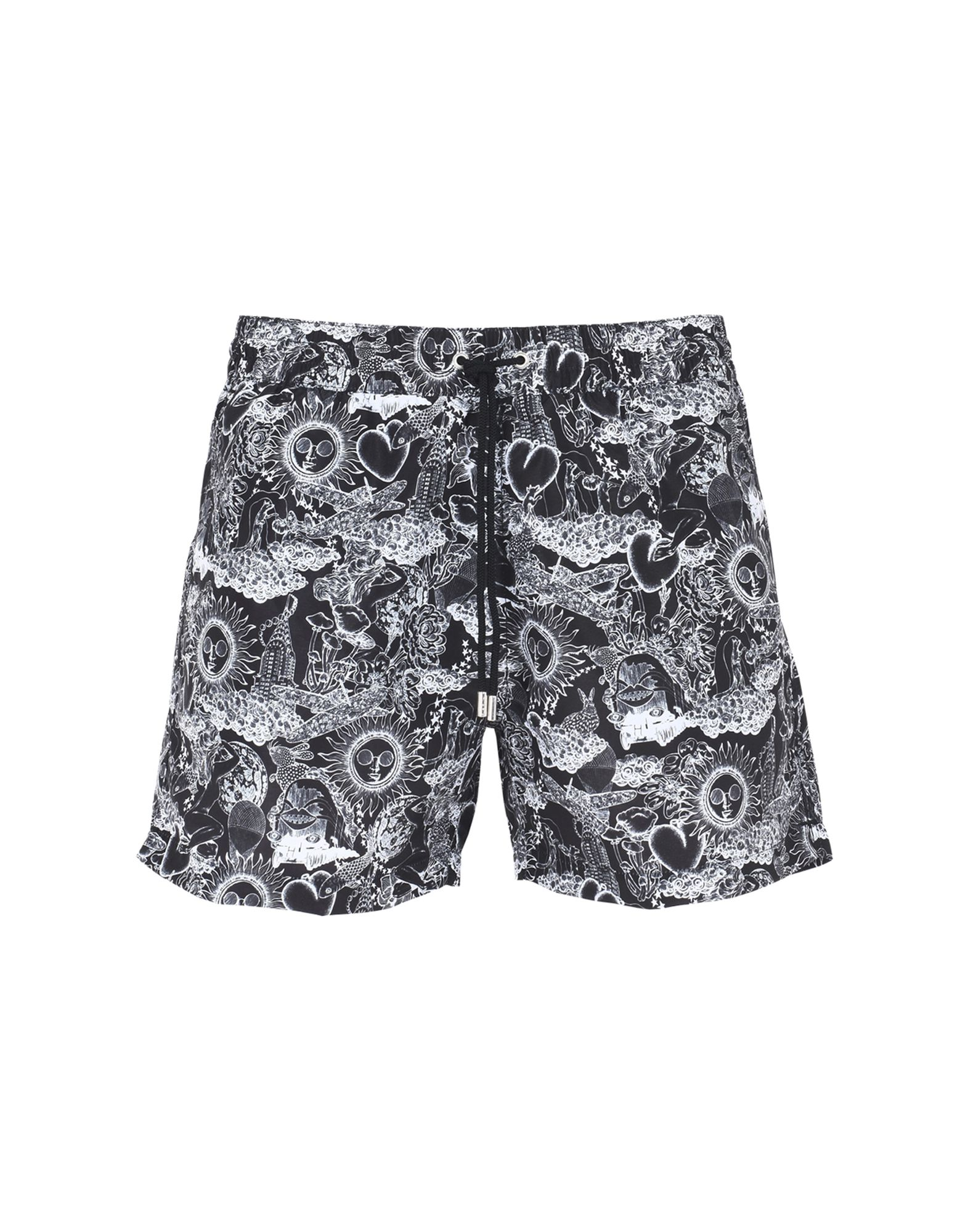 PAUL SMITH SWIMWEAR Шорты для плавания halter mesh panel zipper cut out swimwear