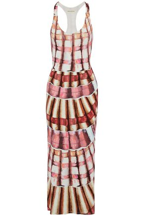 MARA HOFFMAN Printed modal-blend maxi dress