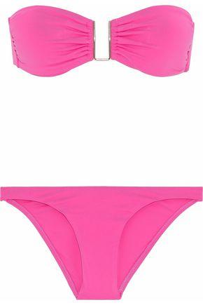 MELISSA ODABASH Barcelona ruched bandeau bikini