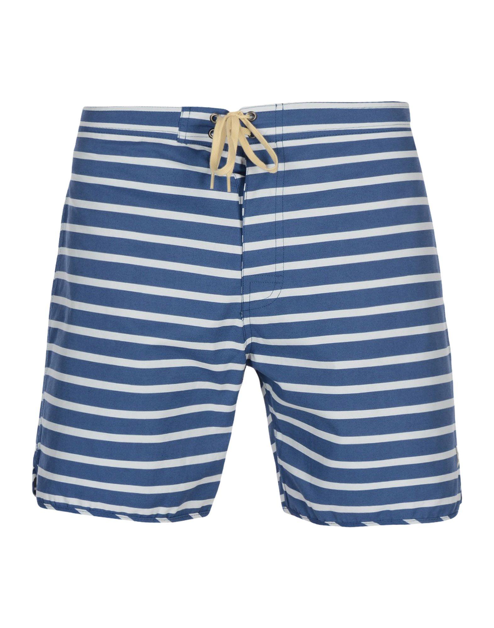 MOLLUSK Swim Shorts in Blue