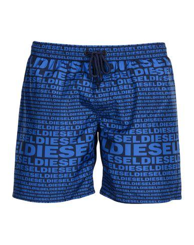 DIESEL Herren Badeboxer Blau Größe L 100% Polyester