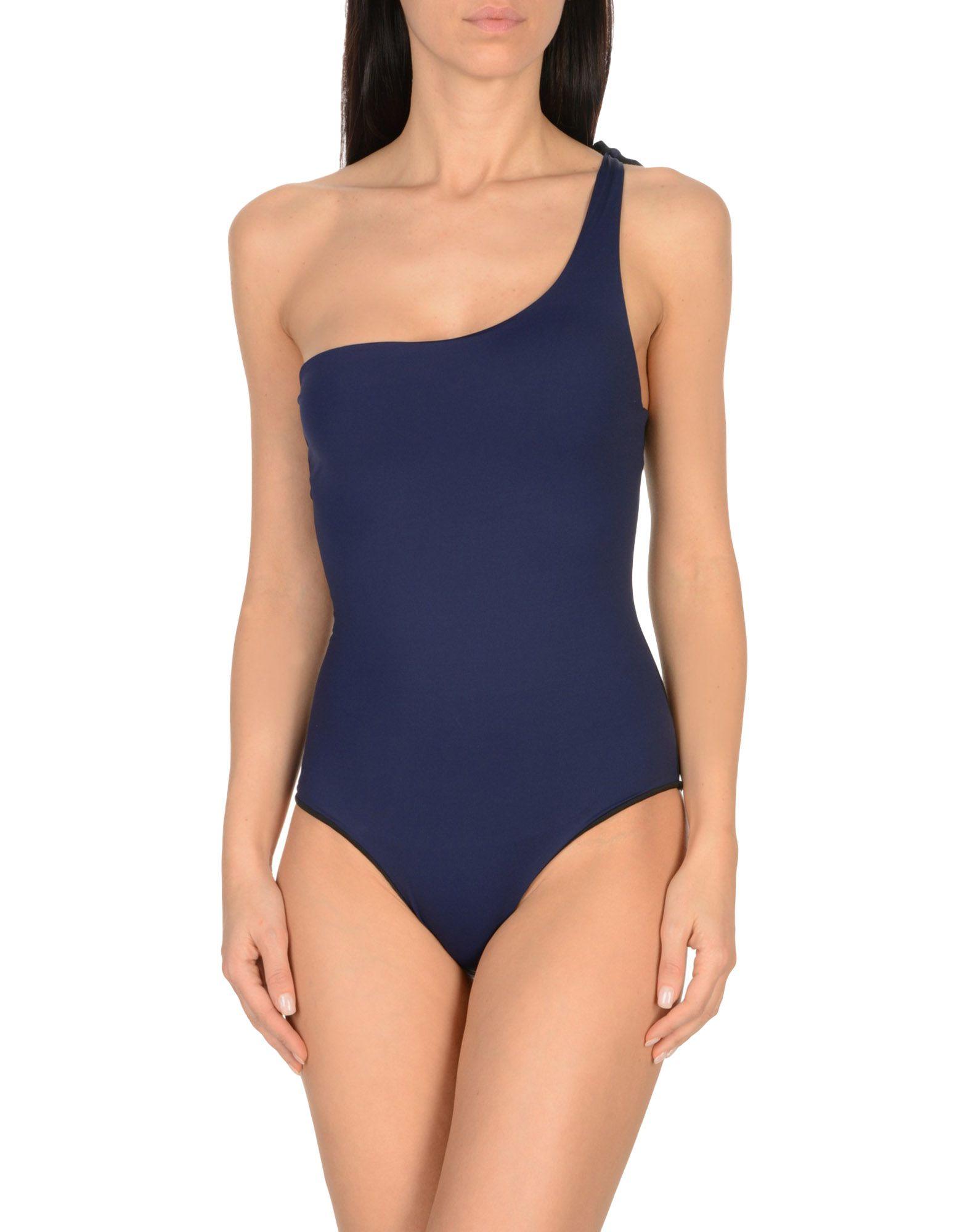 ALBERTINE One-Piece Swimsuits in Dark Blue