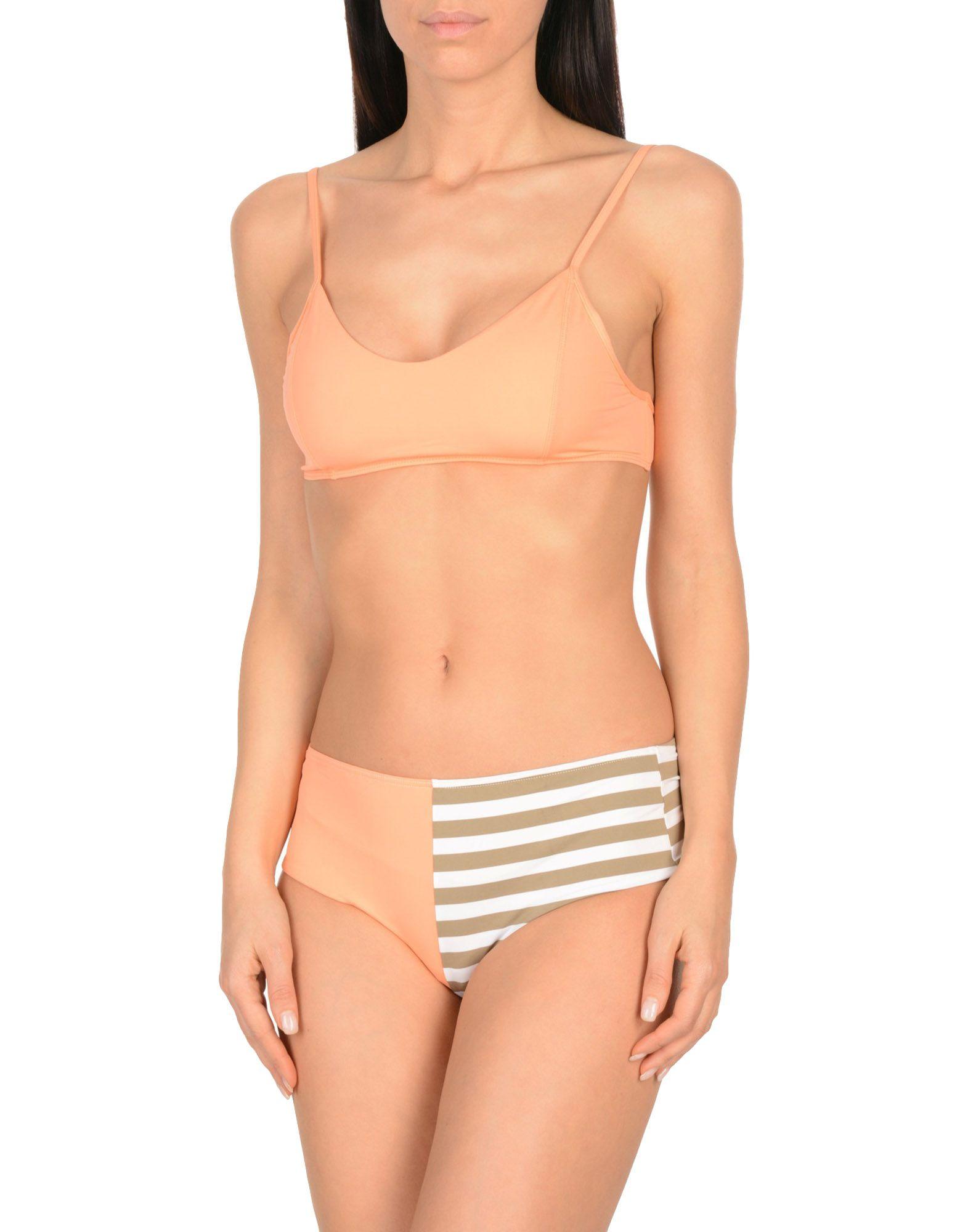 ALBERTINE Bikini in Salmon Pink