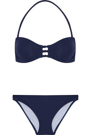 IRIS & INK Sadie knotted bandeau bikini